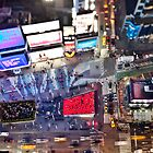 Manhattan in motion - Times Square  by mindrelic