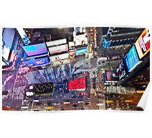 Manhattan in motion - Times Square  Poster