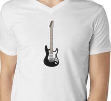 Fender Strat Mens V-Neck T-Shirt
