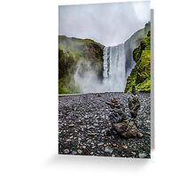 Zen Stacks Greeting Card
