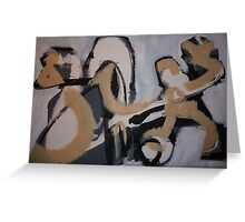 Figurative Exercise 13 Greeting Card