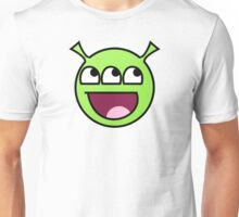 Awesome Alien Face Unisex T-Shirt
