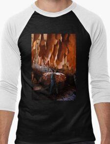 The Leather Man - Chania, Crete Men's Baseball ¾ T-Shirt