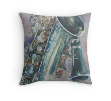 Jazz Buddies Throw Pillow
