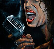 Steven Tyler by Leslie Willis
