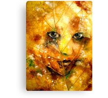 Autumn Angel.. Canvas Print