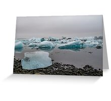 Cool Serenity Greeting Card