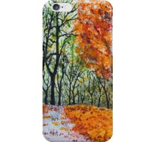 Early October iPhone Case/Skin