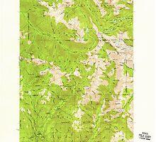 USGS Topo Map Oregon Eagle Cap 282441 1954 62500 by wetdryvac