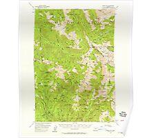 USGS Topo Map Oregon Eagle Cap 282441 1954 62500 Poster