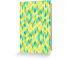 Neon Camouflage Greeting Card