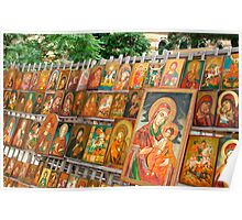 christian orthodox icons Poster