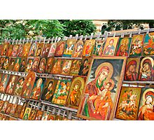 christian orthodox icons Photographic Print