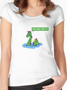 """South park quote """"I need about tree fitty"""" said by chef's dad Women's Fitted Scoop T-Shirt"""