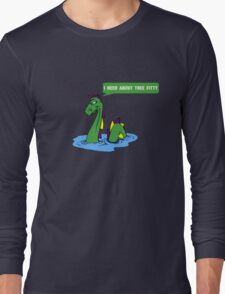 """South park quote """"I need about tree fitty"""" said by chef's dad Long Sleeve T-Shirt"""