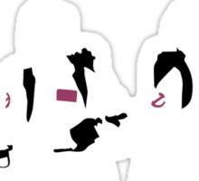 The Showdown (Dark version) Sticker