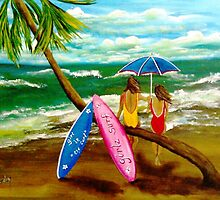 Girlz Surf by WhiteDove Studio kj gordon