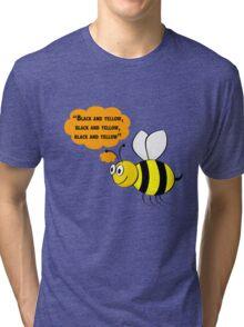 Black and yellow, Wiz Khalifa music parody Tri-blend T-Shirt