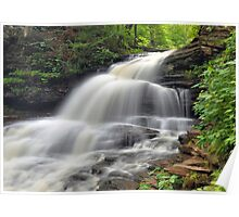 Shawnee Falls - Ricketts Glen Poster