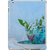 Lily Valley Tea Cup iPad Case/Skin