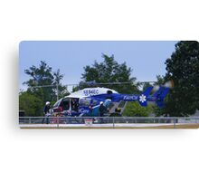 Transport Helicopter Canvas Print