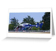 Transport Helicopter Greeting Card