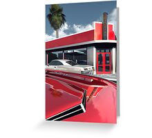 Reds Five And Dime Greeting Card