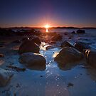 Dixons Beach Sunrise, Taroona,Tasmania #8 by Chris Cobern