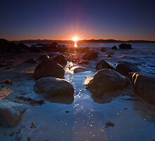 Dixons Beach Sunrise, Taroona,Tasmania #8 by Chris Cobern