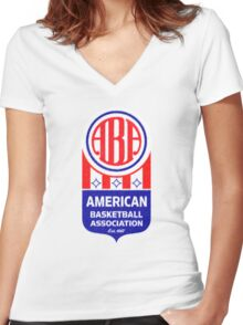 ABA Vintage Women's Fitted V-Neck T-Shirt