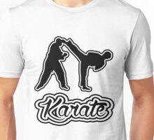 Karate Side Kick Black  Unisex T-Shirt