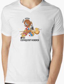 San Diego  Conquistadors Mens V-Neck T-Shirt