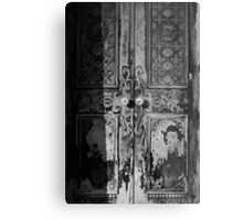 Mausoleum Door II Metal Print