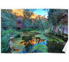 Dales Gorge in the Karijini National Park WA Poster
