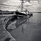 Old Trawler, Carlingford Harbour, Co. Louth, Ireland by Nigel Bryan