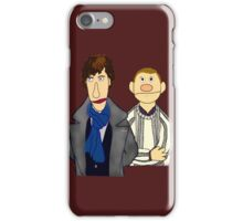 Sherlock and John Muppet Style iPhone Case/Skin