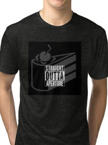 Straight Outta Aperture Science Tri-blend T-Shirt