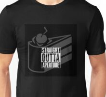 Straight Outta Aperture Science Unisex T-Shirt