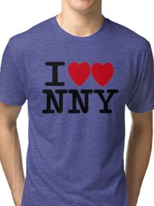 I ♥♥ New New York  Tri-blend T-Shirt