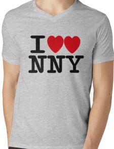 I ♥♥ New New York  Mens V-Neck T-Shirt