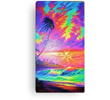 Mango Sunset Canvas Print