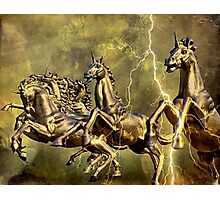 Electric Steeds Of Appolo Photographic Print