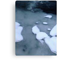 River: Monochrome Canvas Print
