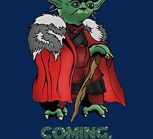Yoda Stark Christmas by RowanArthur93