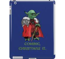 Yoda Stark Christmas iPad Case/Skin