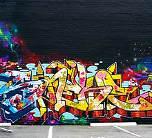 The New Wall ( Hews, Sneke, Dondi by Rime & MYth ). by Todd Rollins