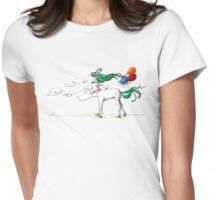 Nowhere Near Here Womens Fitted T-Shirt