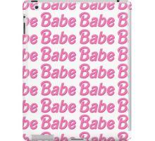 Barbie Babe pattern iPad Case/Skin