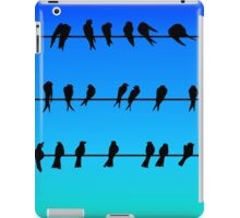 Birds on a Wire No.1 iPad Case/Skin