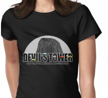 Devil's Tower Extra-Terrestrial Immigration & Processing Centre Womens Fitted T-Shirt